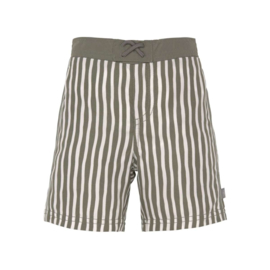 Lässig Board Shorts Boys - UV Protection, Stripes Olive