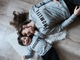 Sweater #MOMLIFE - Finnshandmade