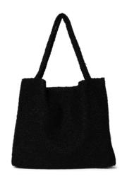 Black Bouclé mom-bag - StudioNoos