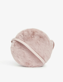 Roze furry handtas - Mimi and Lula