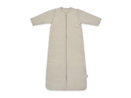 Baby Slaapzak 90cm Basic Stripe - Met Afritsbare Mouw - Nougat