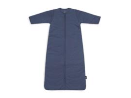 Baby Slaapzak 110cm Basic Stripe - Met Afritsbare Mouw - Jeans Blue