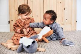 Baby Slaapzak 90cm Spot - Met Afritsbare Mouw - Caramel - Jollein