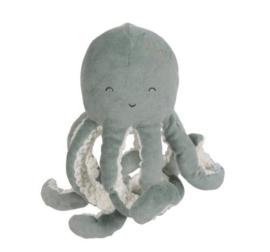 little dutch knuffeloctopus ocean mint - 22 cm