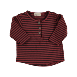 Striped t-shirt tile - Beans