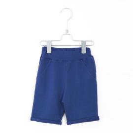 Bermuda Shorts Solid Indigo Blue - Lotiekids