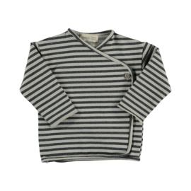Striped sweat t-shirt ice - Beans