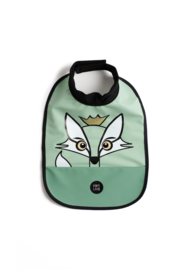 High Neck Bib - Fox Powder Green - Babylivia