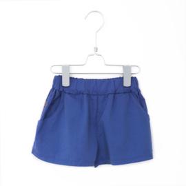 Wide Shorts Solid Indigo Blue - Lotiekids