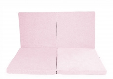 Square Foam Play Mat for Children, light pink - MeowBaby