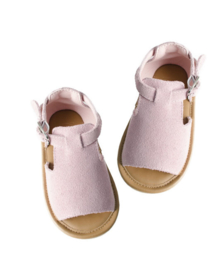Hazel sandals – Pink suede