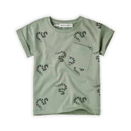 T-shirt Print Snake - Sproet & Sprout