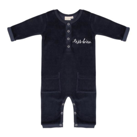 JUMPSUIT TRES BIEN - TOTAL ECLIPSE VELOUR - LITTLE INDIANS