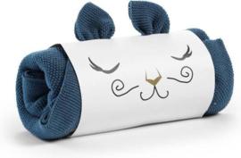 Gebreid deken tender blue - Elodie Details