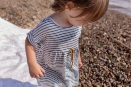 Shark Srtriped Cotton Dress - Beans Barcelona