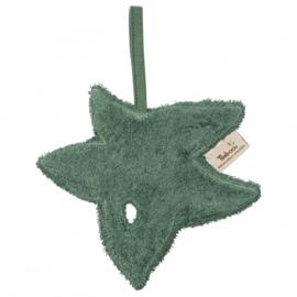 Fopspeenknuffel blad Aspen Green - Timboo
