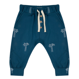 Pants Palmtrees Legion Blue - Little Indians