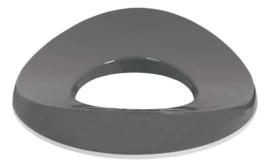 Toiletbril Dark Grey - Luma