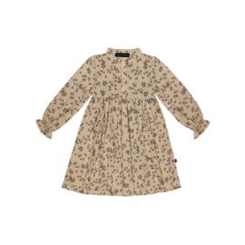 High Waist Dress- Oatmeal Forest - HOJ