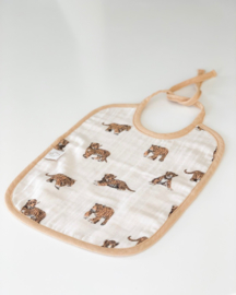 Baby Bib Tiger And Sand - JUNE - Milinane