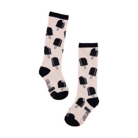 CarlijnQ Long Socks - Ice Cream Pink