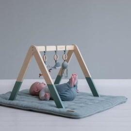 Little Dutch houten babygym met speeltjes - Ocean Mint