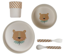 BAMBOO ECO DINNER SET – LION - Eef Lillemor