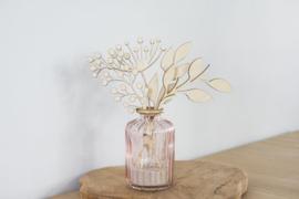 Houten bloemen | Incl. vaasje - Mammooi