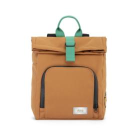 mini bag | canvas – sunset cognac - Dusq