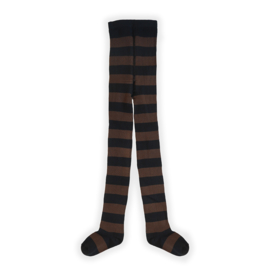 TIGHTS CHOCOLATE STRIPE -Sproet & Sprout