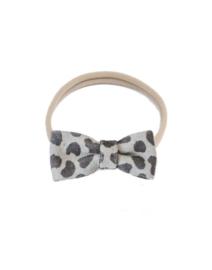 Moons haarbandje – Grey cheetah