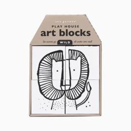 Wee Gallery Play House Art Blocks - Wild
