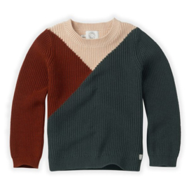 SWEATER COLOURBLOCK - Sproet & Sprout