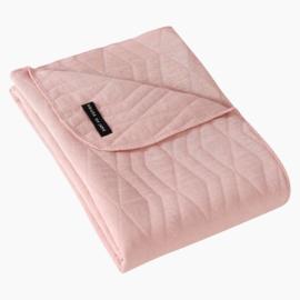 DEKENTJE Geometry Jacquard - Powder Pink - HOJ