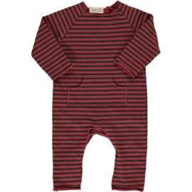 Striped playsuit tile - Beans