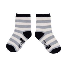 CarlijnQ Sock Stripe Grey