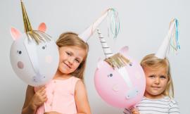 Unicorn balloon kit - MeriMeri