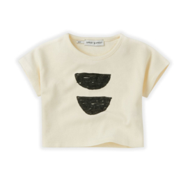 T-Shirt Cropped Abstract - Sproet & Sprout