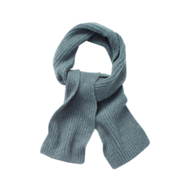 KNITTED SCARF LAKE BLUE - Sproet & Sprout
