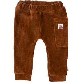 Rib Pants Brown  - Blablabla