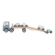 Houten transportwagen - Little Dutch