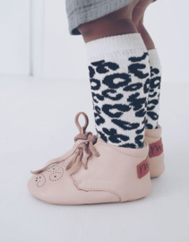 Ava booties Dust pink - DOTM
