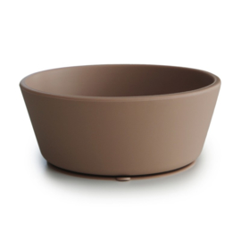 MUSHIE - SILICONE BOWL - NATURAL STICK & STAY