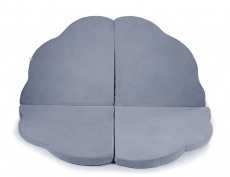 Cloud Foam Play Mat for Children, gray-blue - MeowBaby