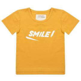 Little Indians - Shirt Smile - Oker