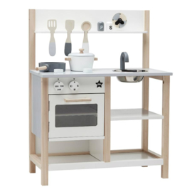 Kid's Concept houten keuken natural / wit