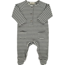Striped playsuit ice - Beans