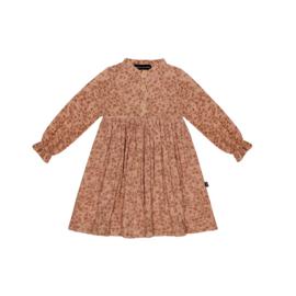 High Waist Dress - Terra Blush Blossom - HOJ
