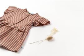 Dress Sriped Glitter Heart - BlaBlaBla