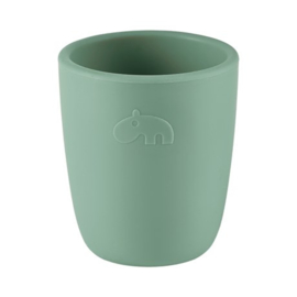 Silicone mini mug, green - Done by deer